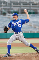 Mike Montgomery - AZL Royals - 2010 Arizona League. Montgomery pitches two innings in a rehab appearance against the AZL Cubs at Hohokam Stadium, Mesa, AZ - 07/19/2010.Photo by:  Bill Mitchell/Four Seam Images..