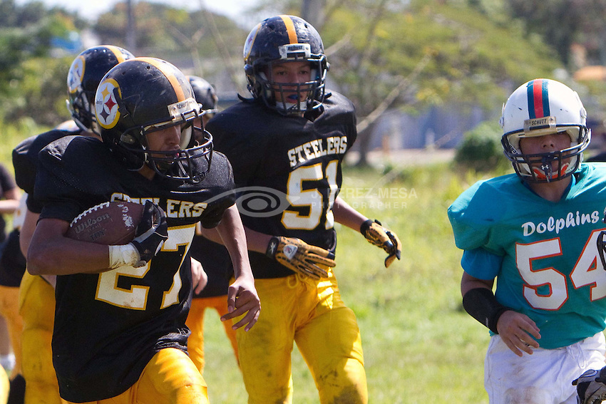 Baldrich Falcons and other teams in action on February 18th, 2012.