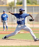 Rubby De La Rosa - Los Angeles Dodgers, 2009 Instructional League.Photo by:  Bill Mitchell/Four Seam Images..