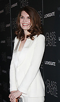 NEW YORK, NY August 09, 2017Jeannette Walls attend Lionsgate presents a special screening of The Glass Castle at SVA Theater in New York August 09 2017.<br /> CAP/MPI/RW<br /> &copy;RW/MPI/Capital Pictures