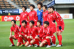 North Korea team group line-up (PRK), <br /> DECEMBER 11, 2017 - Football / Soccer : <br /> EAFF E-1 Football Championship 2017 Women's Final match <br /> between North Korea 1-0 South Korea <br /> at Fukuda Denshi Arena in Chiba, Japan. <br /> (Photo by Naoki Nishimura/AFLO)