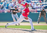 7 March 2016: Washington Nationals pitcher Felipe Rivero on the mound during a Spring Training pre-season game against the Miami Marlins at Space Coast Stadium in Viera, Florida. The Nationals defeated the Marlins 7-4 in Grapefruit League play. Mandatory Credit: Ed Wolfstein Photo *** RAW (NEF) Image File Available ***