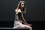 Actress Silvia Abascal on stage during the performance of the play Ecos on November 14, 2019 in Madrid, Spain.(ALTERPHOTOS/ItahisaHernandez)