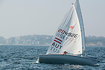 Claus Maria Dapeci from Austria in action during the ISAF Sailing World Championships 2014 at the Real Club Maritimo of Santander on September 12, 2014 in Santander, Spain. Photo by Nacho Cubero / Power Sport Images