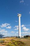 Easat Marine Radar tower for shipping at Landguard, Port of Felixstowe, Suffolk, England, UK