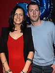 Karl O'Reilly celebrating his 30th birthday in Brú with girlfriend Fiona Buckley. Photo: Colin Bell/pressphotos.ie