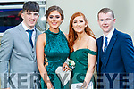 Tommy Quirke, Eve Weldon, Abigail Gallagher and Niall O'Brien, pictured at MIlltown Presentation Secondary School Debs, held at the Earl of Desmond Hotel, Tralee, on Thursday, July 25th last.