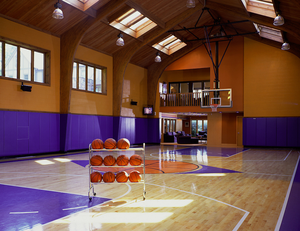 Residential Basketball Court