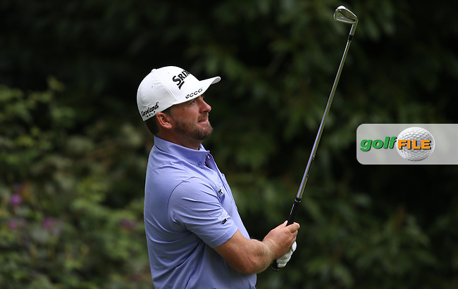 Graeme McDowell (NIR) during Round Two of the 2015 BMW PGA Championship over the West Course at Wentworth, Virginia Water, London. 22/05/2015Picture David Lloyd, www.golffile.ie.