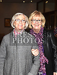 Eileen Duff and Carol Larkin pictured at the Garth Brooks Experience at City North hotel. Photo:Colin Bell/pressphotos.ie