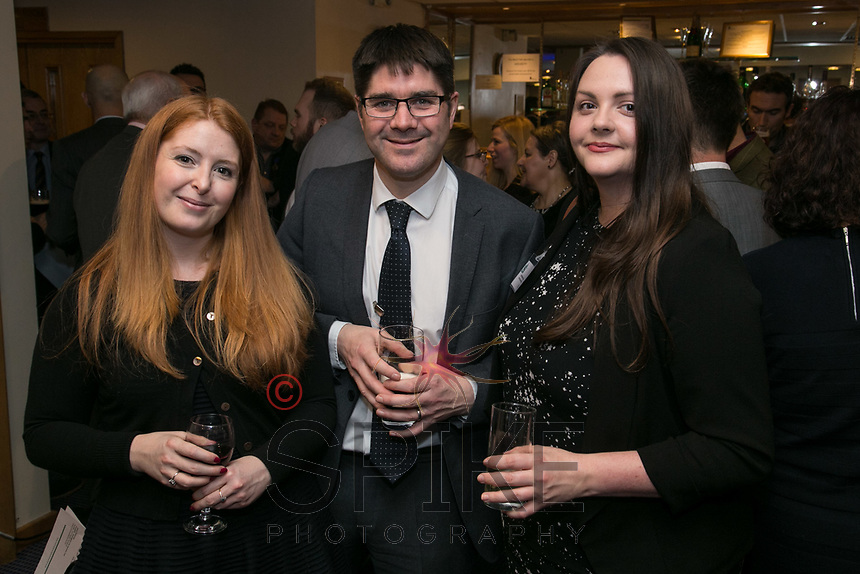 pictured from left are Charlotte Moreland of Training for Business, Stephen Marwood of Nottingham City Council and Katie Williams-Stanley of @Work Recruitment