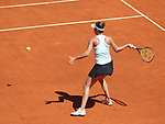 Belinda Bencic, Switzerland, during Madrid Open Tennis 2019 match. May 10, 2019.(ALTERPHOTOS/Alberto Simon)