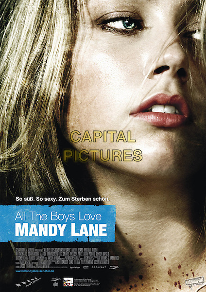 GERMAN POSTER ART<br /> in All the Boys Love Mandy Lane (2006) <br /> *Filmstill - Editorial Use Only*<br /> CAP/FB<br /> Image supplied by Capital Pictures