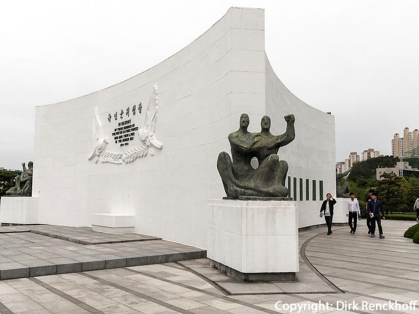 UN-Gedenkfriehof-United Nations Memorial Cemetery, Busan, Gyeongsangnam-do, S&uuml;dkorea, Asien<br /> United Nations Memorial Cemetery, Busan,  province Gyeongsangnam-do, South Korea, Asia