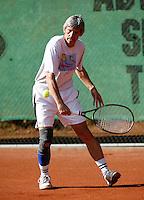 24-8-07, Velp, Tennis, Nationale  Veteranen Tennis Kampioenschappen 2007, Hans Adama van Scheltema,  HE 60+