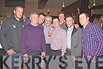 Pictured here at the Ring of Kerry Hotel on Friday night at Foilmore GAA Clubs launch of a fundraising CD 'Tribute to Dan Tim O'Sullivan' were l-r; Sean O'Connor, Donal Griffin, Tom O'Sullivan, Dan Tim O'Sullivan, Patsy Tim O'Sullivan, Ger McCarthy, James Moran & Patrick O'Sullivan.