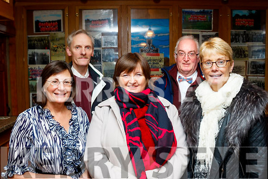 L-R Noreen McEnery, Breda Leahy, Eileen Fitzgerald, Sean Leahy and Richard McEnery at the Mike Denver concert last Friday night in Brosna village.