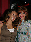 "Guiding Light's Mandy Bruno ""Marina Cooper"" celebrated her birthday at Planet Hollywood, NYC by throwing for her friends and castmates a party on Sept. 23, 2006. Her birthday was on the 20th of Sept. Here she is pictured with Courtney with whom she went to high school. (Photo by Sue Coflin/Max Photos)"