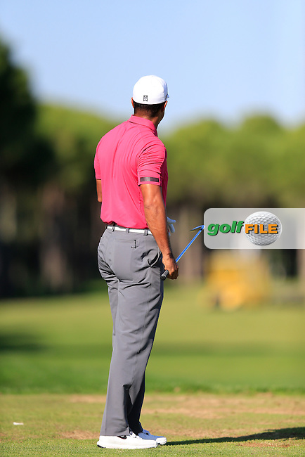 during round 3 of the Turkish Airlines Open presented by the Ministry of Tourism and Culture, hosted at the The Montgomerie Maxx Royal,Antalya,Turkey.<br /> Picture: Fran Caffrey www.golffile.ie
