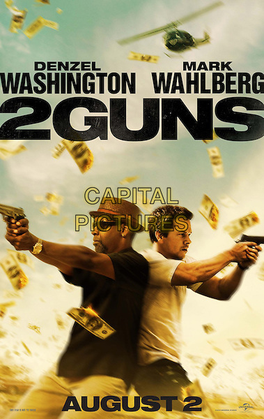POSTER ART<br /> in 2 Guns (2013) <br /> *Filmstill - Editorial Use Only*<br /> CAP/FB<br /> Supplied by Capital Pictures