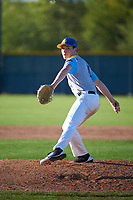 Cannon King (4) of Beverly Hills High School in Beverly Hills, California during the Baseball Factory All-America Pre-Season Tournament, powered by Under Armour, on January 13, 2018 at Sloan Park Complex in Mesa, Arizona.  (Art Foxall/Four Seam Images)