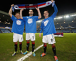 Fraser Aird, Lee Wallace and Ian Black