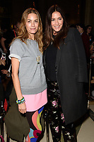 Yasmin Le Bon and Lisa Snowdon<br /> at the Pam Hogg show as part of London Fashion Week, London<br /> <br /> <br /> ©Ash Knotek  D3378  16/02/2018
