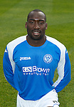 St Johnstone FC Season 2012-13 Photocall.Gregory Tade.Picture by Graeme Hart..Copyright Perthshire Picture Agency.Tel: 01738 623350  Mobile: 07990 594431