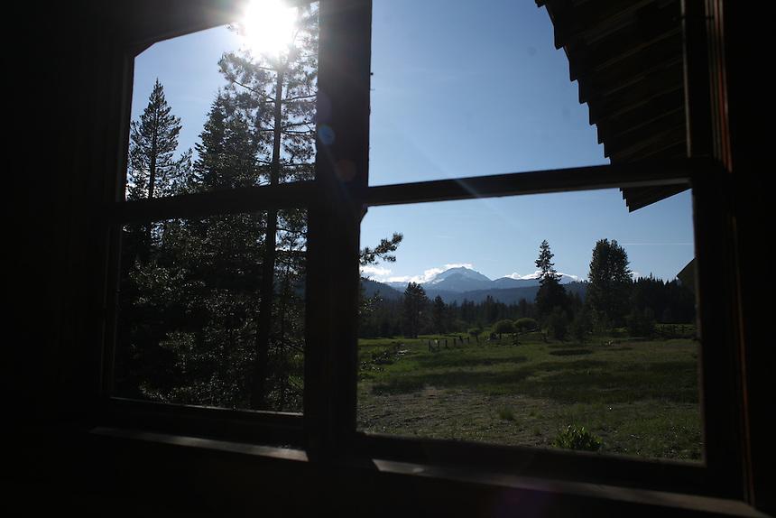 Inside Abandoned Building - Mt. Lassen Volcanic National Park
