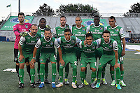 HEMPSTEAD - USA. 13-07-2016: New York Cosmos y Jacksonville Armada FC en partido en partido por la temporada de otoño 2016 de la North American Soccer League (NASL) jugado en el estadio James M. Shuart Stadium de la ciudad de Hempstead, NY./ New York Cosmos and Jacksonville Armada FC in match for the fall season 2016 of the  North American Soccer League (NASL) played at James M. Shuart Stadium in Hempstead, NY. Photo: VizzorImage/ Gabriel Aponte / Staff