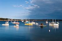 Fishing boats in Prospect Harbor, Gouldsboro, Maine, USA.
