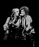 Bob Dylan and Tom Petty and the Heartbreakers<br /> Great Woods, Mansfield MA 1986