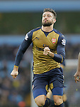 Olivier Giroud of Arsenal - Football - Barclays Premier League - Aston Villa vs Arsenal - Villa Park Birmingham - 13th December 2015 - Season 2015/2016 - Photo Malcolm Couzens/Sportimage