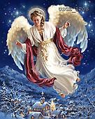 Dona Gelsinger, CHRISTMAS CHILDREN, paintings, USGE1208,#XK# Engel, angeles