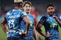 11th July 2020; Christchurch, New Zealand;  Beauden Barrett. Crusaders versus Blues in the Super Rugby Aotearoa. Orangetheory Stadium, Christchurch,