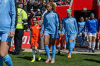 Bridgeview, IL - Saturday April 22, 2017: Casey Short during a regular season National Women's Soccer League (NWSL) match between the Chicago Red Stars and FC Kansas City at Toyota Park.