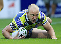 PICTURE BY CHRIS MANGNALL /SWPIX.COM...Rugby League -  Super League  - Leeds Rhinos v Hull FC - Headingley Carnegie Stadium , Leeds, England  - 06/07/12... Leeds   1st try scored by Carl Ablett