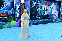 "LOS ANGELES, CA. February 09, 2019: America Ferrera at the premiere of ""How To Train Your Dragon: The Hidden World"" at the Regency Village Theatre.<br /> Picture: Paul Smith/Featureflash"