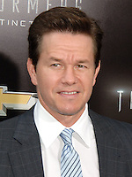 NEW YORK CITY, NY, USA - JUNE 25: Actor Mark Wahlberg arrives at the New York Premiere Of Paramount Pictures' 'Transformers: Age Of Extinction' held at the Ziegfeld Theatre on June 25, 2014 in New York City, New York, United States. (Photo by Celebrity Monitor)
