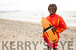 Banna Beach Lifeguard, Methembe Mafu who took a girl at risk of drowning from the water in Banna Beach.