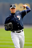 April 30, 2008:  Pitcher Zach Kroenke of the Scranton Wilkes-Barre Yankees before a game at PNC Field in Scranton, PA.  Scranton is the International League Triple-A affiliate of the New York Yankees.  Photo By David Schofield/Four Seam Images