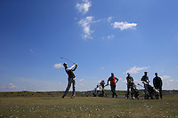 Matthew Downes during Round Two of the West of England Championship 2016, at Royal North Devon Golf Club, Westward Ho!, Devon  23/04/2016. Picture: Golffile | David Lloyd<br /> <br /> All photos usage must carry mandatory copyright credit (&copy; Golffile | David Lloyd)