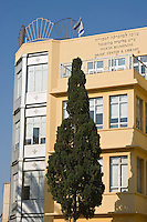 Asie/Israel/Tel-Aviv-Jaffa: Centre Musical Felicia Blumental sur Bialik Sreet dans le quartierNeve Zedec
