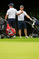 Cathal Butler (Kinsale) on the 18th with a shot to win during the AIG Barton Shield Munster Final 2018 at Thurles Golf Club, Thurles, Co. Tipperary on Sunday 19th August 2018.<br /> Picture:  Thos Caffrey / www.golffile.ie<br /> <br /> All photo usage must carry mandatory copyright credit (© Golffile   Thos Caffrey)