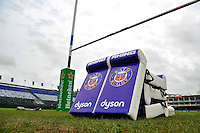 A general view of Bath Rugby branded tackle shields. European Rugby Champions Cup match, between Bath Rugby and RC Toulon on January 23, 2016 at the Recreation Ground in Bath, England. Photo by: Patrick Khachfe / Onside Images