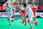 ROTTERDAM -  Billy Bakker (NED) met     tijdens   de Pro League hockeywedstrijd heren, Nederland-Spanje (4-0) . COPYRIGHT KOEN SUYK