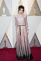 Oscar&reg; nominee Sally Hawkins arrives on the red carpet of The 90th Oscars&reg; at the Dolby&reg; Theatre in Hollywood, CA on Sunday, March 4, 2018.<br /> *Editorial Use Only*<br /> CAP/PLF/AMPAS<br /> Supplied by Capital Pictures
