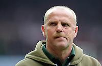 FUSSBALL   1. BUNDESLIGA   SAISON 2011/2012   32. SPIELTAG SV Werder Bremen - FC Bayern Muenchen               21.04.2012 Trainer Thomas Schaaf (SV Werder Bremen)