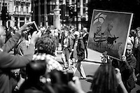 Kaya Mar (Painter and political caricaturist - For more information about the Artist please click here: http://www.kayamarart.com/ ). <br />