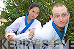 HANMOODO STYLE:  Jia and Michael O'Connell who are running Ireland's only HanMooDo martial arts classes Monday nights in Tralee.